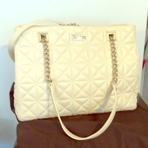 Kate Spade beautiful quilted satchel